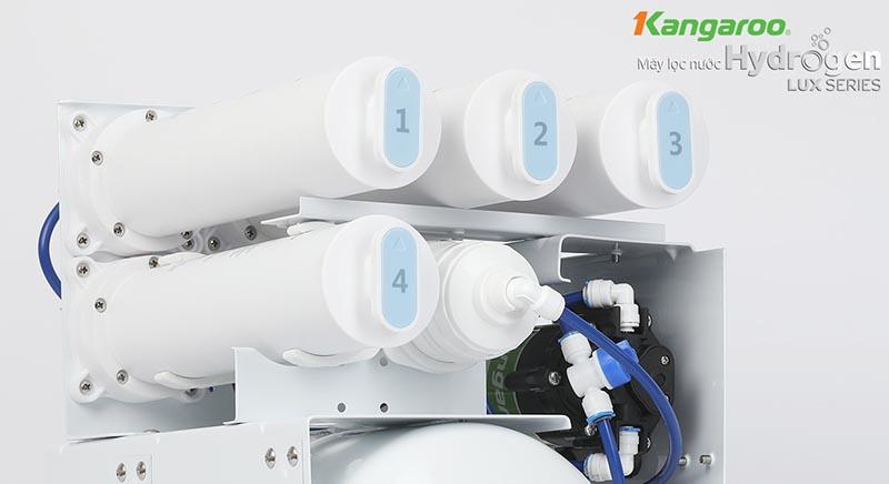 Máy lọc nước Kangaroo hydrogen KGH100HU hệ lõi đồng bộ