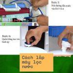 Cách lắp máy lọc nước